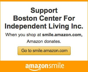 Support Boston Center for Independent Living on Amazon Smile