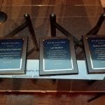 The three Marie Feltin Awards to be presented.