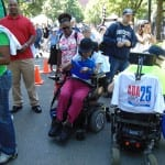 A view of the crowd at the ADA 25 Celebration