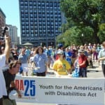 Crowd at the ADA 25 Celebration.
