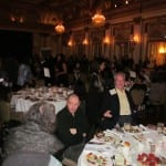 View of the attendees in the ballroom.