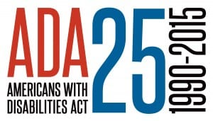 ADA Americans with Disabilities Act 25 1990-2015