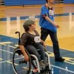 Participants doing laps together.