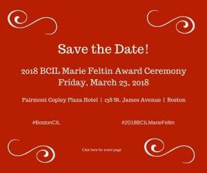 2018 BCIL Marie Feltin Award Ceremony